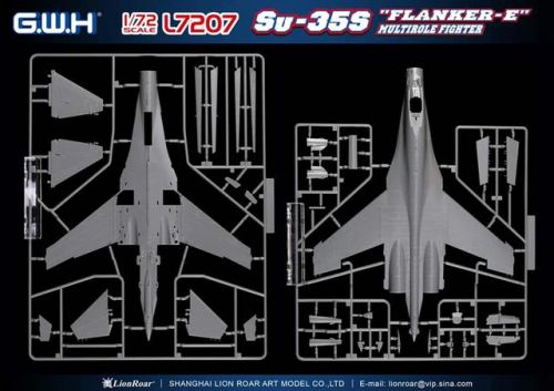 "Su-35S ""Flanker-E"" Great Wall Hobby"