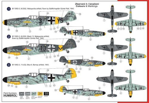 "Bf 109G-3 ""High Altitude Gustav"" AZ Model"