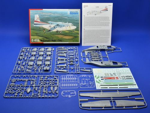 C-41A US TRANSPORT PLANE SPECIAL HOBBY