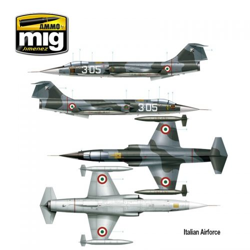 "F-104G ""STARFIGHTER NATO ALLIANCE"" AMMO of MiG"